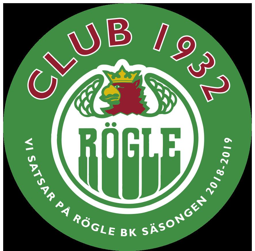 dekal Rögle 2018-19 grön