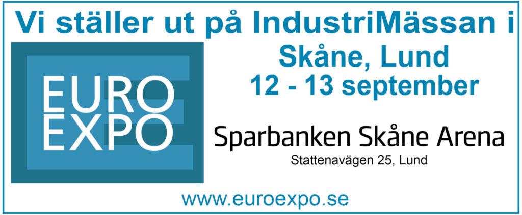 Mekano ställer ut på Euro Expo Lund