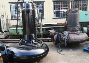 Renoverad pump hos Mekano